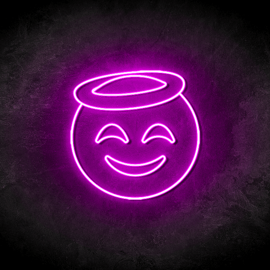 Smiley Angel led Led Neon Sign